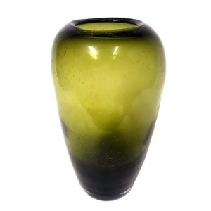 Olive Green Vase Large