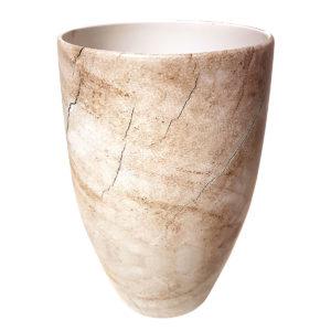Classic Wood Look Vase