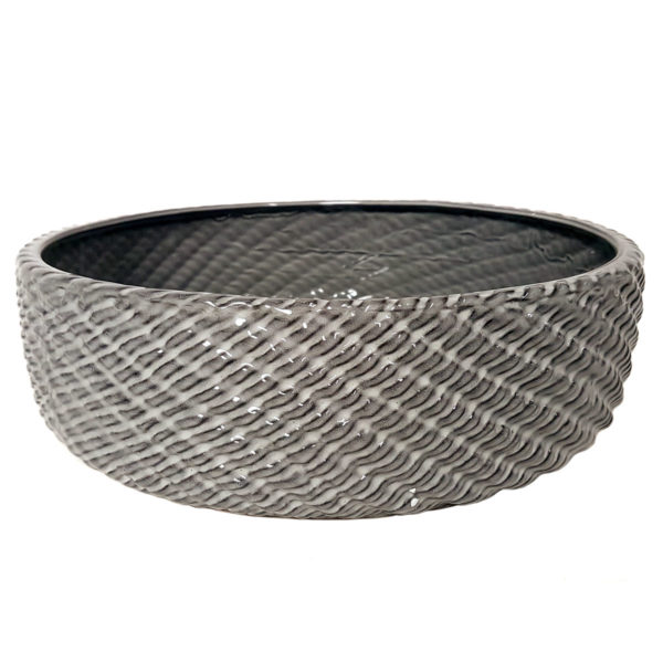 Grey Rope Bowl