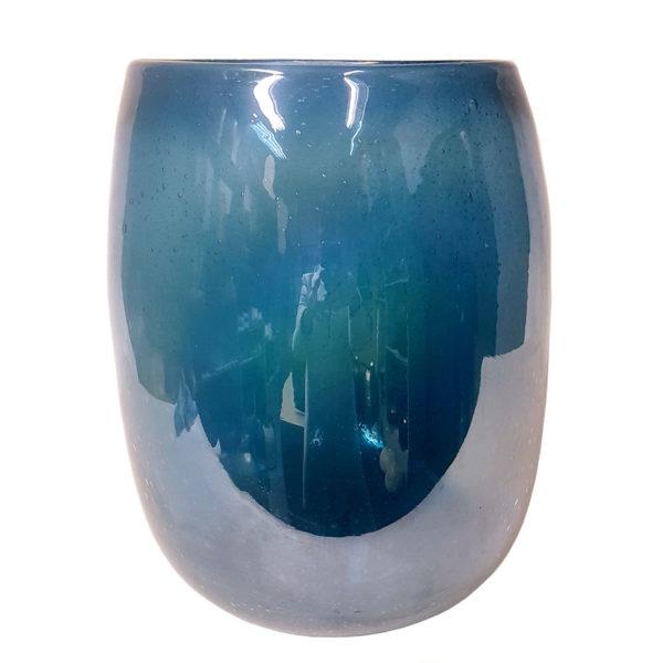 XL Opel Blue Vase