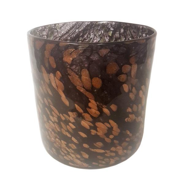Black Gold Cylinder