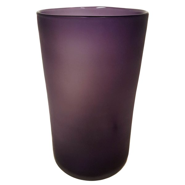 XL Purple Cylinder Vase
